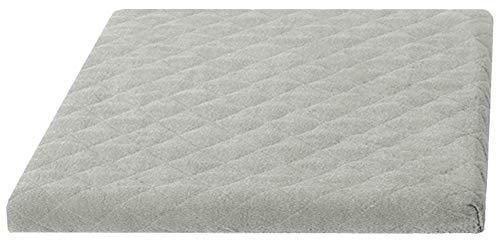 Trockner und Waschmaschinenschonbezug in versch. Farben, Größe: ca.60 x 60 x 6 cm von Brandseller Taupe/Grau