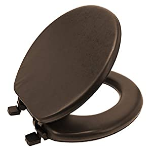 PADDED COMFORT: To ensure that using the bathroom is a pleasant and relaxing experience, we created the Ginsey Home Solutions Soft Toilet Seat to blend superior comfort with high-quality craftsmanship. ATTRACTIVE AESTHETIC: Designed with an attractiv...