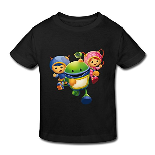 TBTJ Team Umizoomi T Shirts For Child 2-6 Years Old Black 5-6 Toddler