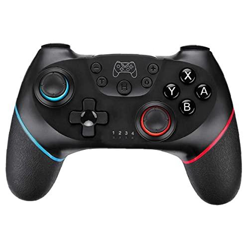 Controlador inalámbrico Interruptor Gamepad Bluetooth Remote juego Vibración Turbo Gyro Axis Compatible con Switch Pro Tools Free
