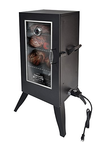 Masterbuilt 30162EW Electric Smoker with Window, 30', Black