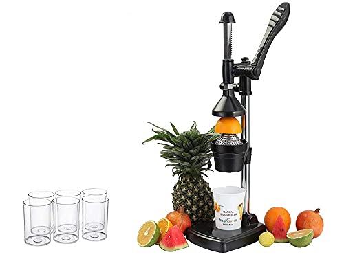 MGA Aluminium Hand Press Citrus Juicer/Fruits Juicer/Vegetable Juicer/Manual Hand Juicer with hand...