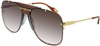Sunglasses Gucci GG 0739 SA- 003 Silver/Brown