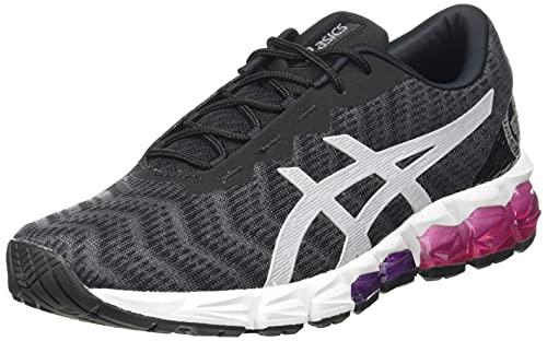 ASICS Gel-Quantum 180 5, Zapatillas para Correr Mujer, Gris Carrier Grey Pure Silver, 37.5 EU
