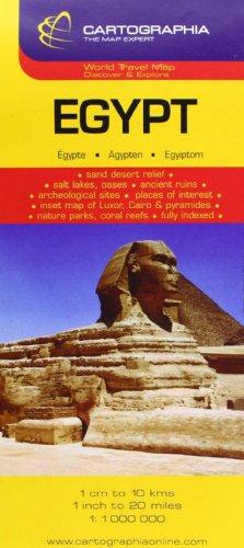 Mapa Cartographia Egipto (CARTES (19500)) (French Edition)