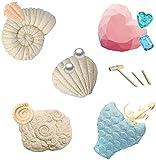 Shhjjyp Kit De ExcavacióN De Piedras Preciosas DIY Juguetes Educativos ExcavacióN ArqueolóGica Conjunto Herramientas Los NiñOs 5 En 1 ExcavacióN Regalo ColeccióN Conjunto DecoracióN