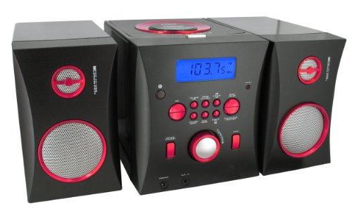 Bigben MCD06 Stereo Music Center schwarz/pink