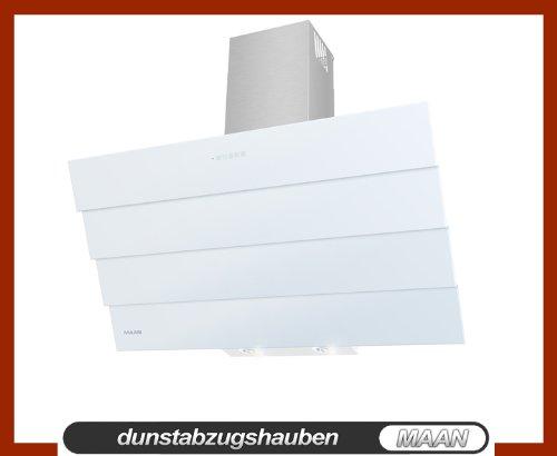 Dunstabzugshaube MAAN Saturn 90 cm Touchscreen auf dem WEIß Glas! LED-SMD! Fernbedienung! aus Deutschland!!!