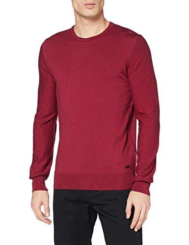 BOSS Herren Amiox Pullover, Dark Red609, L
