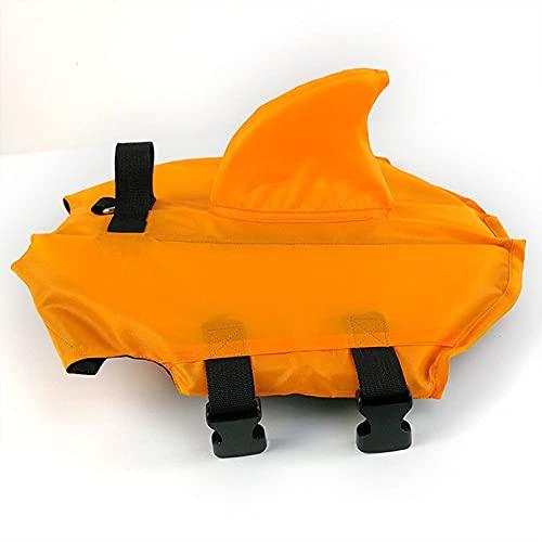 Mascota Perro Chaleco salvavidas Perro Verano Natación Chaleco con forma de tiburón Ropa de seguridad Chaleco para perros Para Bulldog francés Productos para perros Traje de baño para playa Piscina