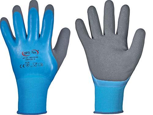 HandschuhMan. Arbeitshandschuhe Aqua Guard, wasserdicht lebensmittelgeeignet. Gr. 7-11 (9/L)