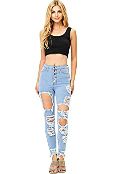 Best extreme ripped jeans Reviews