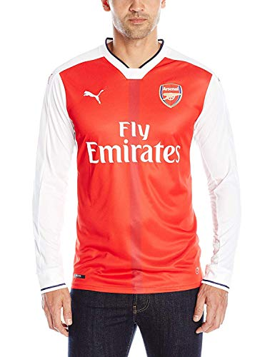 PUMA Mens Arsenal Long Sleeve Licensed Replica Jersey 2016-2017, Large, Home