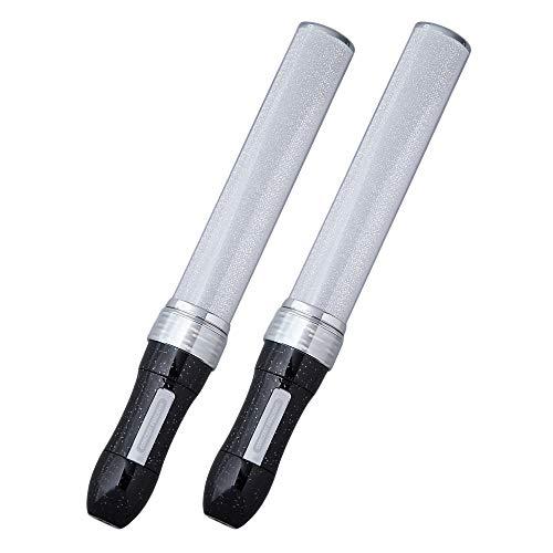 MIX PENLa ROYAL(ミックスペンラ ロイヤル) 2本パック 単4電池 30色カラーチェンジ (スティック2本セット, Noir) ターンオン(TurnON)