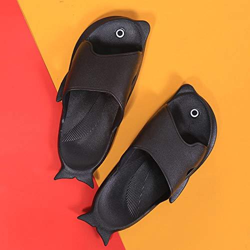 Zapatillas para Unisex Adultos Antideslizantes Zapatillas de baño,Zapatillas de verano para hombres y mujeres Pingüino de dibujos animados lindo baño baño sandalias y zapatillas antideslizantes para p