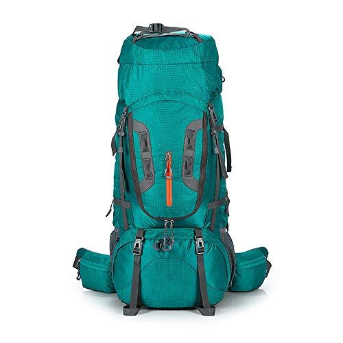 TRF Randonnée Sac à Dos, Sac à Dos 80L Cadre Interne - Suspension Boucle de Grande capacité Multiple Cargo Bays - Outdoor Sport Daypack pour l'alpinisme Camping