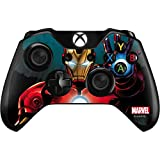 Skinit Decal Gaming Skin Compatible with Xbox One Controller - Officially Licensed Marvel/Disney Ironman Design