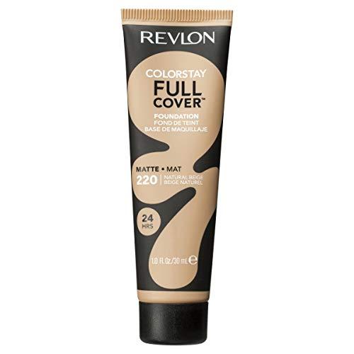 Revlon ColorStay Full Cover Foundation, Natural Beige, 1.0 Fluid Ounce