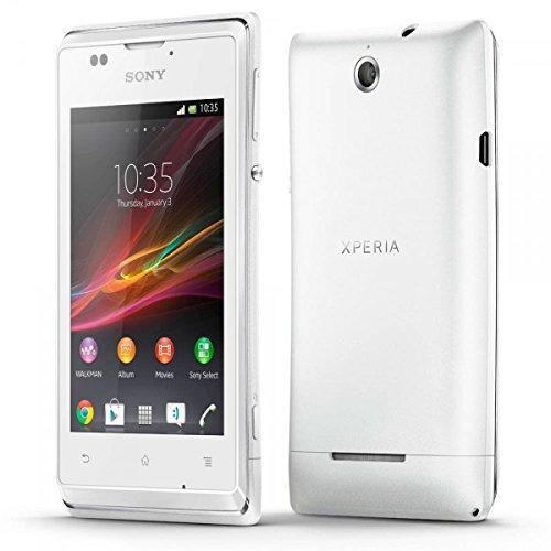 Sony Xperia E C1505 - Smartphone Orange Entriegelt Android (Bildschirm 3.5