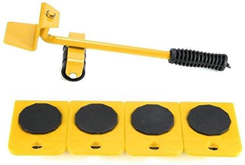 TXOZ-Q 360 ° Mover Muebles Roller Set/Transporte de Muebles Lifter, Mover hasta 150 kg / 330 Libras, de 5 Piezas