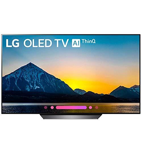 LG 55' Clase B8 OLED 4K HDR AI Smart TV 2018 Modelo (OLED55B8PUA) (Reacondicionado)