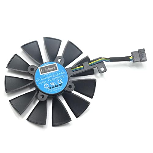 XIANGBEI Ventilador de refrigeración PLD09210S12M PLD09210S12HH de 87 mm para ASUS Strix GTX 1060 OC 1070 1080 GTX 1080Ti RX 480 Graphics Card
