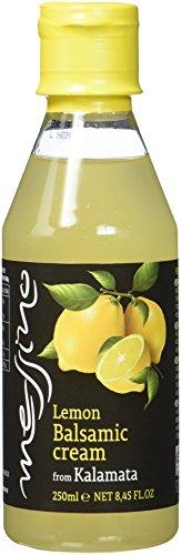 Papadeas - Messino Vinegars Zitrone Weiße Balsamico Crème Glaze 250ml, 3er Pack (3 x 250 ml)