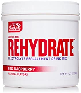 Advocare Rehydrate Electrolyte Replacement Drink Mix Red Raspberry