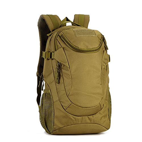Camouflage Backpack Hiking Outdoor Army Fan Schoolbag Waterproof Travel Large Capacity Mountaineering Backpack Rucksack Gear Tactical Assault Pack Student School Bag 25L for Hunting Camping Trekking T