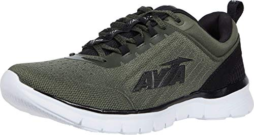 Avia Men's Avi-Factor Running Shoe, Grape Leaf/Black, 11.5
