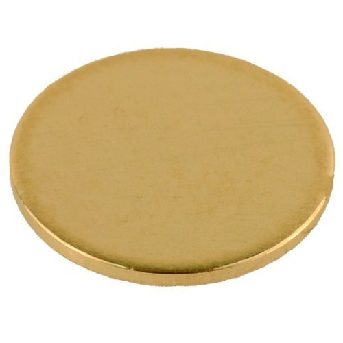 14K Yellow Gold Calibration Disc Gemoro Auracle AGT1, AGT2, AGT3 & AGT-BLUE Gold Testers, Larger Size