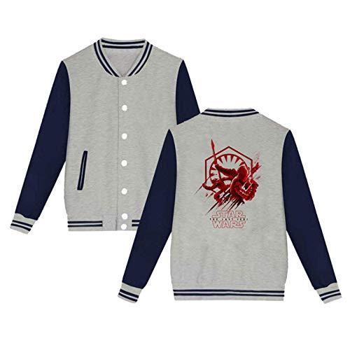Star_Wars Hoodies Casual Cotton Fashion Printed Gray 3XL