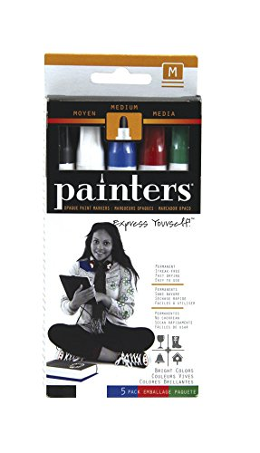 Elmer's Painters Opaque Paint Markers, Set of 5 Markers, Bright