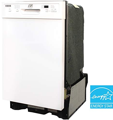 SD-9254W: Energy Star 18″ Built-In Dishwasher w/Heated Drying – White