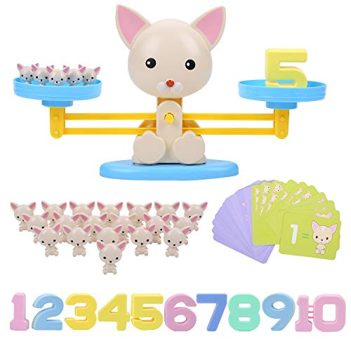 FORMIZON Equilibrar Juego de Matemáticas, Juguete Animal
