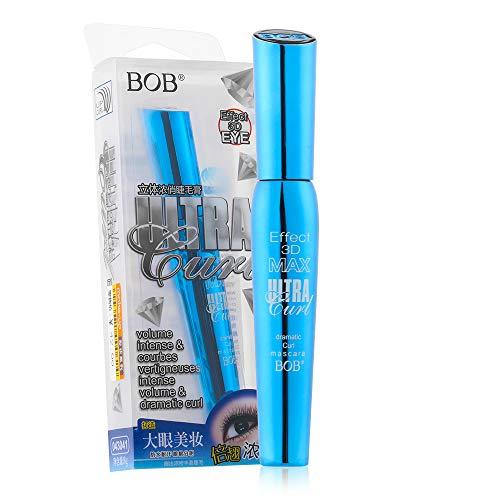 3D Fiber Mascara, Waterdichte Cosmetische Tool Dikke Krul Siliconen Borstel Hoofd Wimper Krulverlenging Verlenging Charmante Oogmake-up