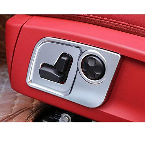 Fibre de Carbone Style ABS Plastique Car-Styling Siège Côté Décorer Cadre Garniture Garniture pour Levante Ghibli Quattroporte