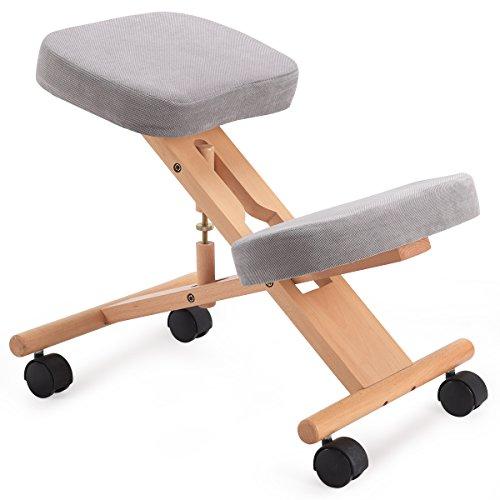 CASART - Taburete de madera ergonómico para repostería ortopédica