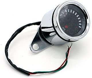 Ggaggaa strumento di conversione auto led indicatore livello carburante auto serbatoio carburante indicatore 52mm 2 pollici 12v