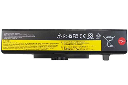 EBOYEE L11S6Y01 Y480 Battery Compatible Lenovo IdeaPad Y580 Y485 G480 G580 G585 G700 G710 Z380 Z480 Z485 Z580 Z585 P580 45N1043 ThinkPad E E430 E431 E435 E440 E445 E530 E531 E540 75+ 6-Cell