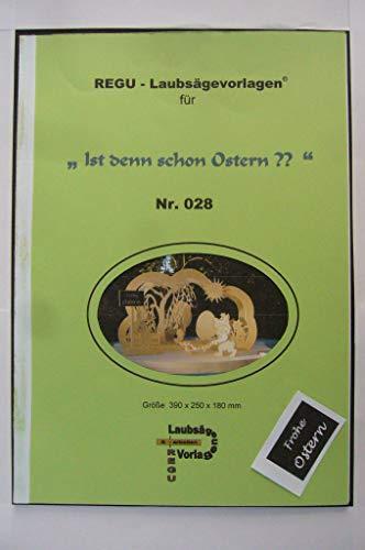 REGU - Laubsägevorlage - Osterbogen