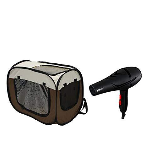Hair dryer-MN Sèche-Cheveux Pliable Portable Respirant Chien Chat Chat sèche-Cheveux boîte de Voyage Voyage sèche-Cheveux sèche-boîte