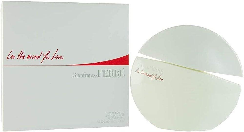 gianfranco ferré in the mood for love eau de parfum spray profumo per donna 50 ml 8011530901578