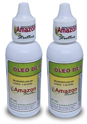 Kit 2 Oleo De Avestruz Amazon Struthio - 35 Ml