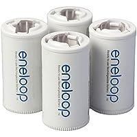 4-Pack Panasonic BQ-BS2E4SA eneloop C Size Rechargeable AA Battery