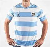 Maillot De Rugby,Maillot Homme 2019,Costume De Rugby Argentin, Maillot D'EntraîNement De Football,Partisan De La Formation en Plein Air,Remplacez Les Manches Courtes à SéChage Rapide,3XL