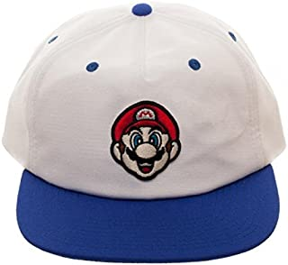 856df2af9ac052 Bioworld Nintendo Super Mario Big Face Oxford 5 Panel Slouch Snapback