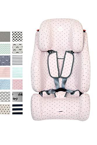 Fundas BCN® - F124/4597 - Funda para Klippan Maxi ®, Triofix Comfort ® y Century ® - Estampado Little Fun Peach