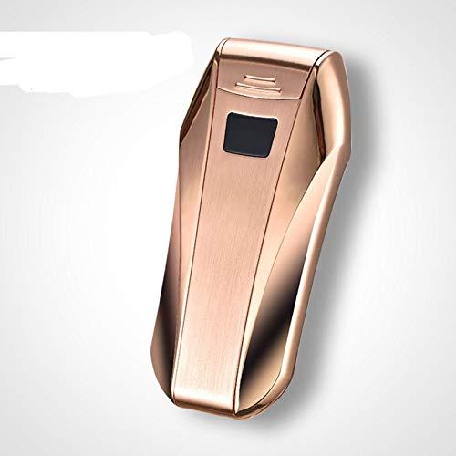 Sigaretaccessoires - USB-aansteker dubbele arc windproof vlamloos elektronische sigaret plasma D - Women Cigaret Accessories Cigaret Accessories Electric Cigar Coin Templar Plasma Splitter goud