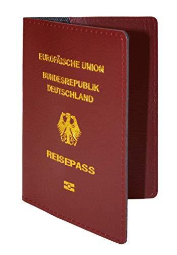 Reisepasshüllen Deutschland Germany Passport Pass Schutzhülle Kunstleder (1 Stück)